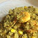 Prawn, Walnut and Sweetcorn Quinoa